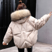 棉衣女短款收腰小棉袄2018新款韩版加厚宽松小棉袄学生冬季外套棉衣面包