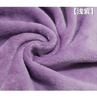 加厚双面法莱绒珊瑚绒布料法兰绒金貂绒毛毯面料水貂绒