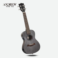 初学者夏威夷暑假小吉他通用ukulele尤克里里23寸乌克丽丽a117 23寸(全套礼包)