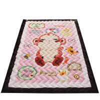 卡通全棉加厚家用客厅地垫绗缝宝宝爬行垫可机洗儿童游戏垫防滑垫