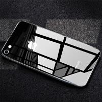 苹果6手机壳iphone6splus女全包防摔7p玻璃保护套i6变8新款硅胶软壳六sp个性创意网红苹