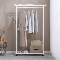 实木衣架落地卧室挂衣架衣帽架简易衣服架简约现代挂包架家用北欧