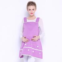 新款防辐射服孕妇装韩版金属纤维马甲裙+全纯银纤吊带6763