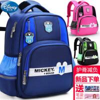 小学生迪士尼男童一年级三6-12周岁1女童3女孩4男孩5米奇儿童书包