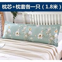 送枕套�p人枕芯枕�^情�H加�L加大�o�i助眠�L款助眠枕1.2m1.5m1.8m
