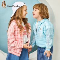 【秒杀价:99元】暇步士童装儿童皮肤衣2020春装新款男童外套女童上衣中大童防晒衣