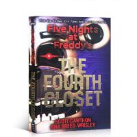 【全店300减100】英文原版 Five Nights at Freddy's:The Fourth Closet 玩具