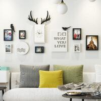 照片墙欧式装饰相框墙简约现代创意个性背景墙客厅卧室组合相片墙