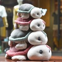 乌龟玩偶毛绒玩具抱枕公仔布娃娃可爱男女孩趴趴小乌龟大小号