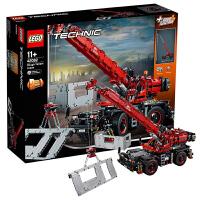 当当自营LEGO乐高Technic/机械组系列复杂地形起重机42082塑料积木玩具