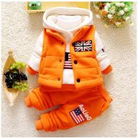 女宝宝0―1岁半男婴儿3秋冬装4加绒衣服5小孩7冬季8套装6-12个月