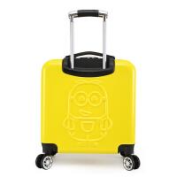 小黄人儿童拉杆箱3D可爱卡通旅行箱男女小学生行李箱包20寸万向轮