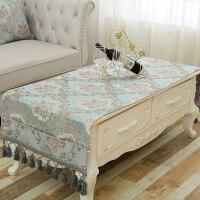 欧式茶几桌布布艺家用客厅绣花小清新棉麻餐桌布梳妆台电视柜盖布