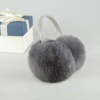 皮草耳套保暖耳罩男女士兔毛耳包耳捂子耳暖护耳可爱护耳套冬