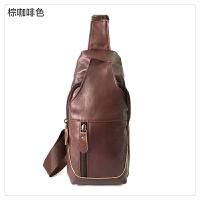时尚新款款新款时尚男士胸包斜挎包运动休闲包包时尚复古简约潮包
