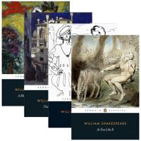 莎士比亚四大喜剧 英文原版 Four Great Comedies 4册套装 仲夏夜之梦 皆大欢喜 威尼斯商人 第十二