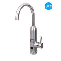 电热水龙头快速热加热小厨宝过水热电热水器家用不锈钢即热式 不锈钢下进水