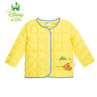 迪士尼Disney童装男女宝宝加厚夹棉羽绒上衣秋冬新品羽绒服154S698