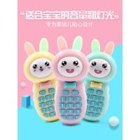女孩0-3岁可咬早教仿真宝宝音乐电话益智八个月婴儿儿童玩具手机