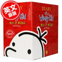 英文原版 新版小屁孩日记 1-11 全套 套装 Diary of a Wimpy Kid 酷宝日记 全新11册