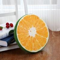 20200111083553465宿舍3D水果坐垫座垫礼物卧室圆型西柚小软垫飘窗日式抱枕凳子椅套