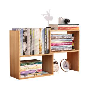 幽咸家居 简约现代创意储物柜简易学生桌上置物书架宿舍书柜儿童桌面小书