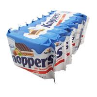 德国原装进口 诺帕斯 Knoppers牛奶榛子巧克力威化饼干(25gX10包) 休闲零食