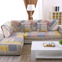防滑棉布艺沙发垫布艺沙发坐垫欧式冬季时尚沙发巾沙发罩沙发套
