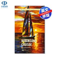 英文原版 鲁滨逊漂流记 Robinson Cruso 世界经典文学名著小说系列 The World's Literary