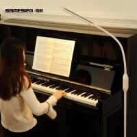 ?钢琴灯练琴专用护眼落地灯乐谱古筝 led遥控立式台灯儿童书房阅读 +5种黄白光模式