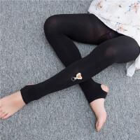 夏季新品儿童踩脚连裤袜女童舞蹈袜新设计韩版打底裤宝宝裤袜