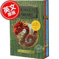 现货包邮 英文原版 霍格沃茨图书馆套装 新版 哈利波特外传 神奇动物在哪里 The Hogwarts Library