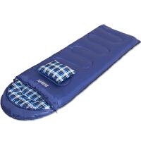 睡袋户外旅行秋冬四季保暖室内露营双人羽绒棉隔脏睡袋
