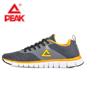 Peak/匹克 春季男款 耐磨缓震舒适透气易折弯运动跑步鞋 E61827H