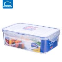 乐扣乐扣保鲜盒塑料微波炉饭盒密封盒便携便当盒水果盒 长方形【1000ml】