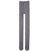 加厚加绒打底裤女外穿冬季光面灰色肤色肉色保暖裤显连裤袜体 藏青 带硅胶