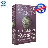 英文原版 冰雨的风暴 A Storm of Swords 冰与火之歌3-2 A Storm of Swords: Par