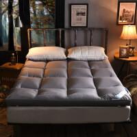 柔软羽绒0.9米床垫榻榻米1.8单双人加厚10cm保护垫被学生床褥