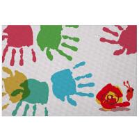 儿童手指画颜料工具绘画纸 宝宝涂鸦纸8K画纸手指画绘画纸