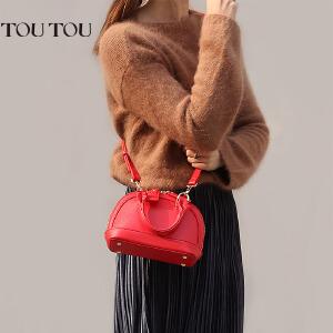 toutou2017新潮款韩版贝壳包女包小号手提包单肩斜挎包迷你小包包