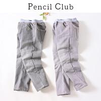 【3件价:59.1元】铅笔俱乐部童装2019冬季新款男童复古保暖长裤中大童牛仔裤