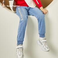 【1件7折:328.3元】暇步士童装男童裤子2020春装新款中大童裤子儿童牛仔裤男孩长裤潮