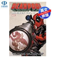 英文原版 死侍面包车 Deadpool Minibus Vol. 0 精装 漫威超级英雄漫画小说书