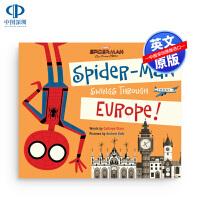 蜘蛛侠:英雄远征 飞跃欧洲 英文原版 Spider-Man Far From Home Swings Through E