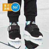 【下单立减价:79.6】361度童鞋 男童跑鞋 儿童运动鞋小童魔术贴熊猫图案 2019年秋季新品N71914502
