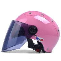 摩托车头盔男电动车头盔女夏季个性时尚防晒轻便式四季安全帽 均码