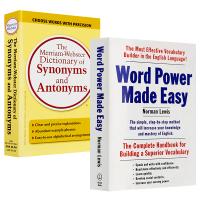 Word Power Made Easy单词的力量 +韦氏英语同义反义近义词词典 Merriam-Webster Di