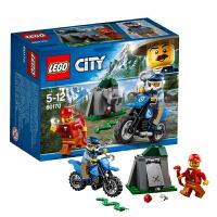 乐高LEGO城市系列越野追逐60170小颗粒积木玩具