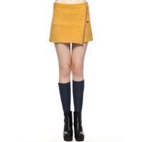 [B2-110-3]羊毛OL半身裙中裙一步裙0.31
