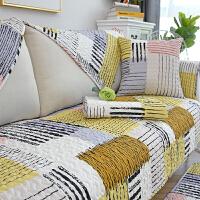 沙发垫四季通用棉布全棉北欧纯棉防滑布艺简约现代坐垫全包套罩巾